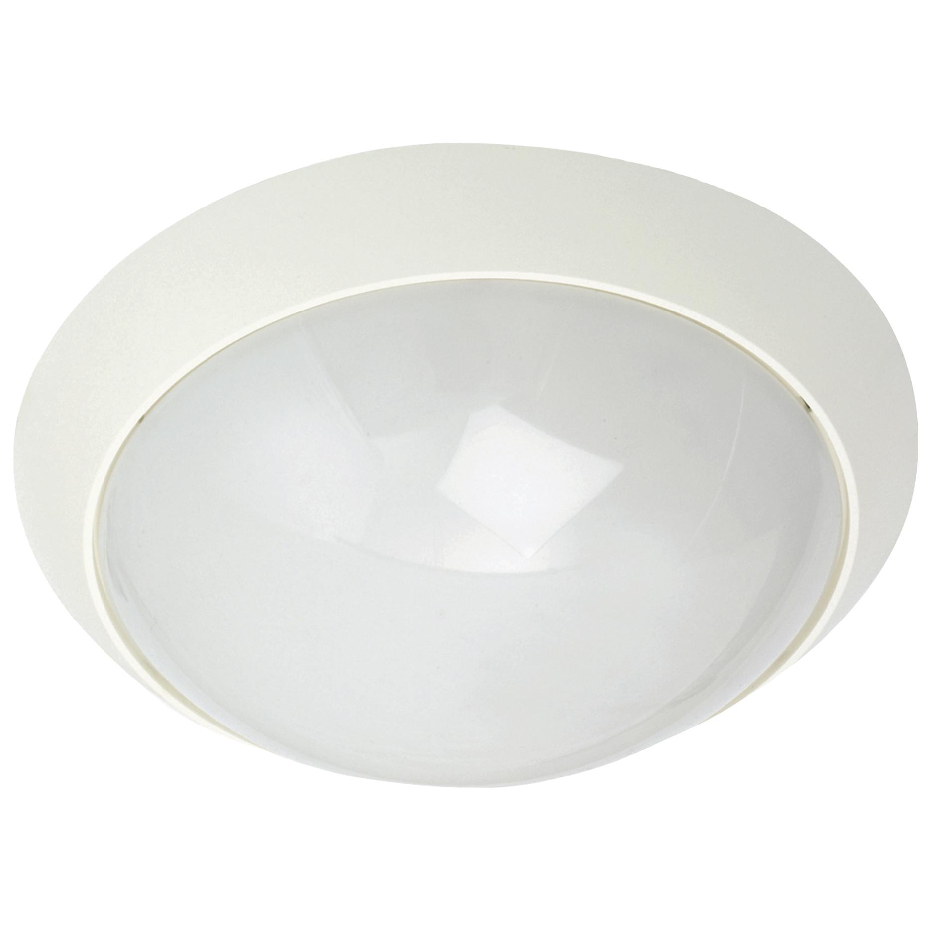 Plafondlamp 35cm E27 SG Econ MIDI PC wit geschikt voor led lamp