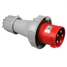 CEE Stekker 5 Polig 32A rood IP67 400V PCE