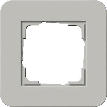 Gira afdekraam 1 voudig E3 grijs-antraciet