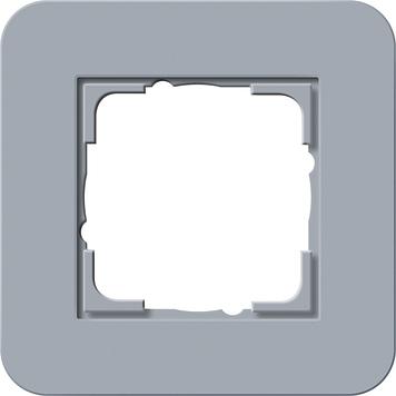 Gira afdekraam 1 voudig E3 blauw grijs antraciet 0211422