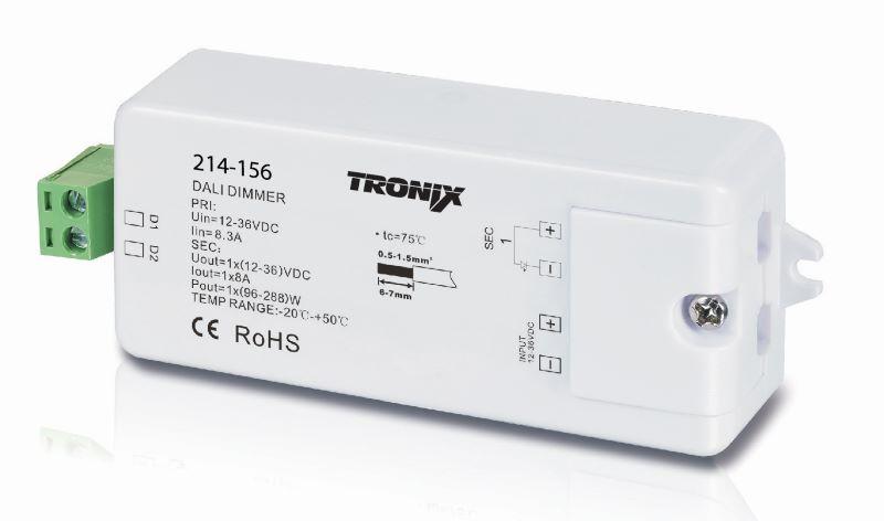 LED Dali dimmer module 12-24V 0-10V 214-156