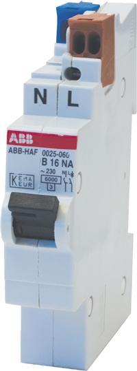 ABB HAF 0025.060  Flexomaat B 16A