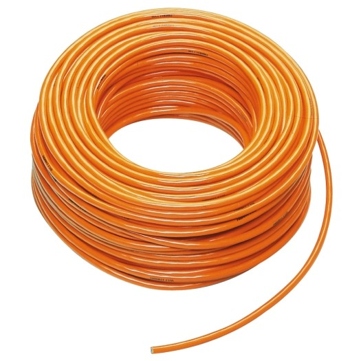 PUR kabel H07BQ F 3 x 15mm kleur Oranje 50 meter