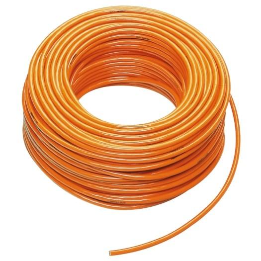 PUR kabel H07BQ F 5 x 25mm kleur Oranje 50 meter