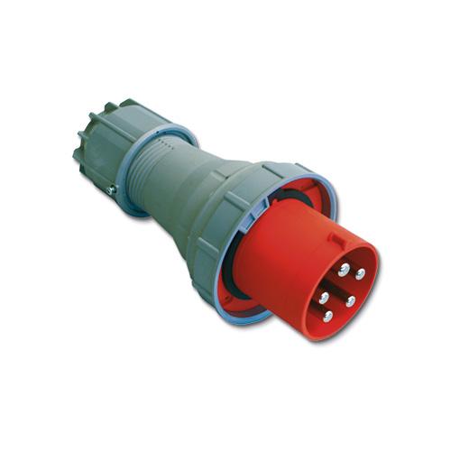 CEE Contactstop 125A 400V 4 polig IP67 Keraf