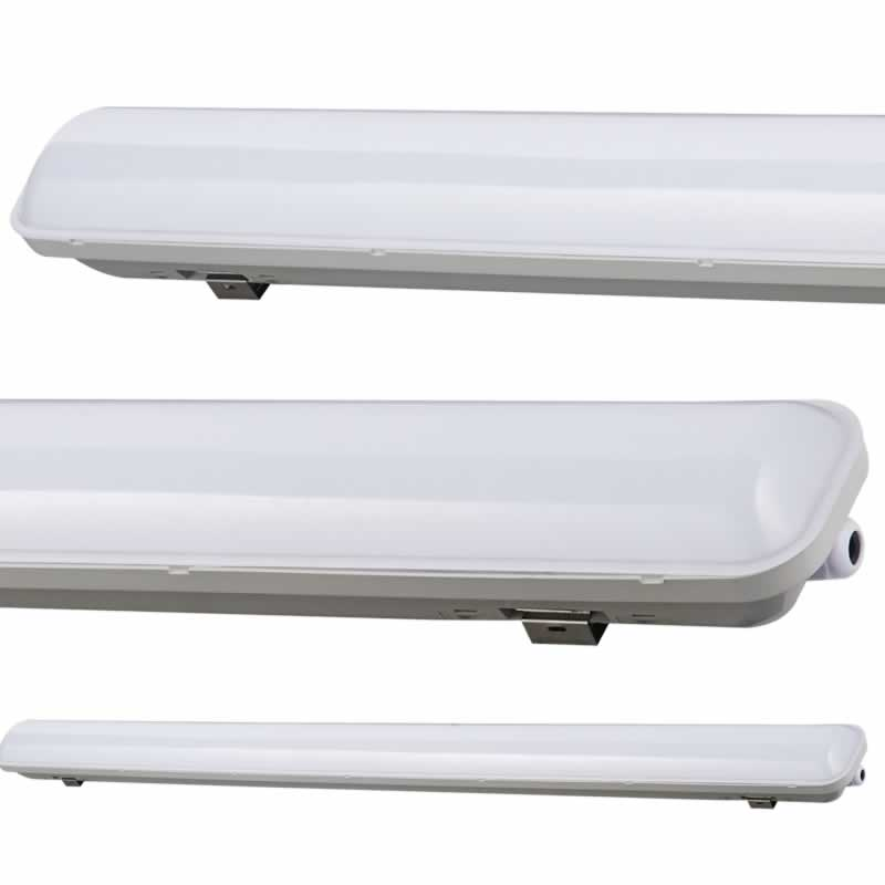 LED TL magazijn verlichting armatuur 5280 lumen 48W 150cm 4000K IP65 ...