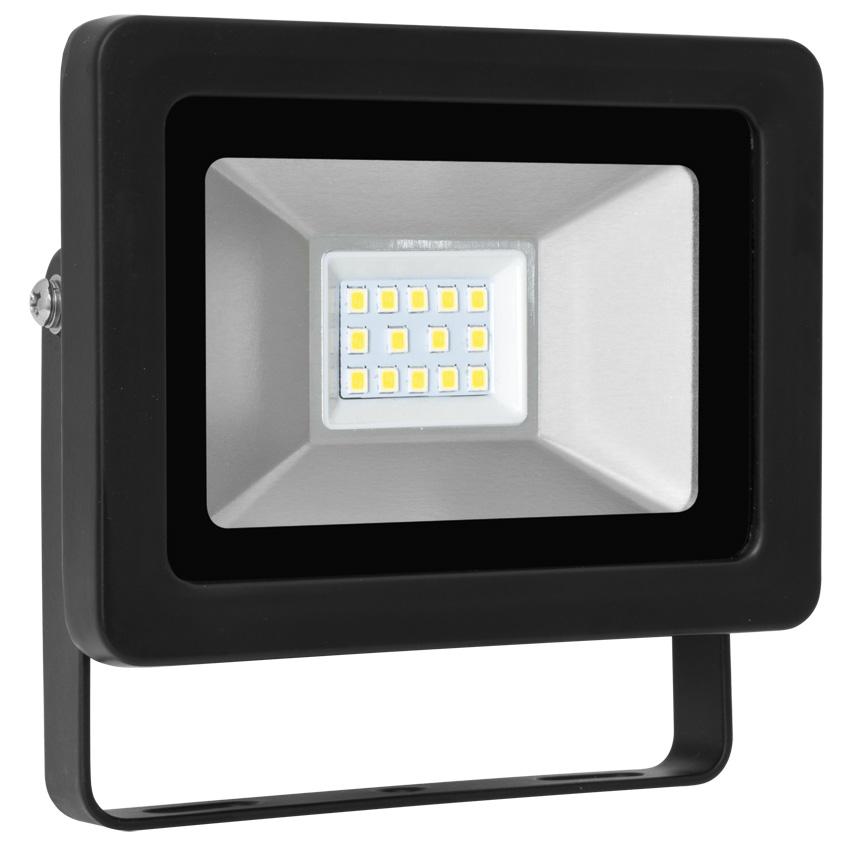 LED straler spot LED Straler 10W 750 lumen 4000K zwart 539000
