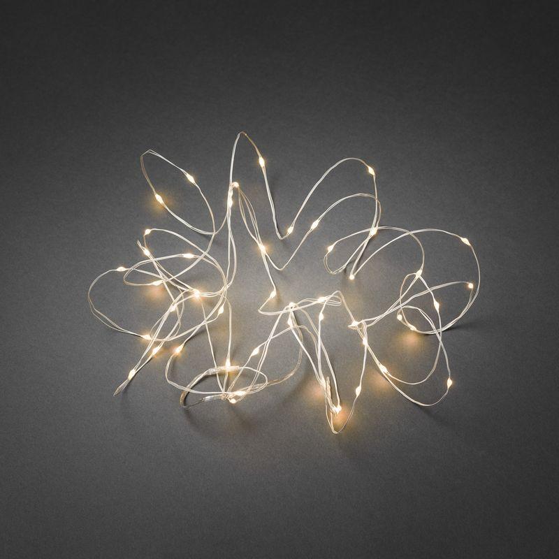 mini led kerstverlichting voor binnen 50 lampjes extra warm wit 10 meter. Black Bedroom Furniture Sets. Home Design Ideas