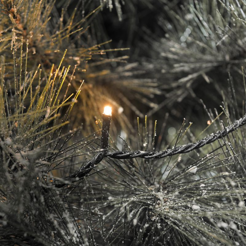 mini led kerstverlichting voor buiten 200 lampjes warm wit 42 meter