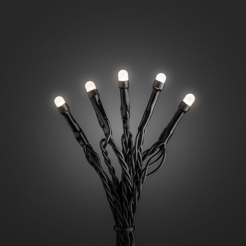 mini led kerstverlichting voor binnen 200 lampjes mat warm wit 42 meter