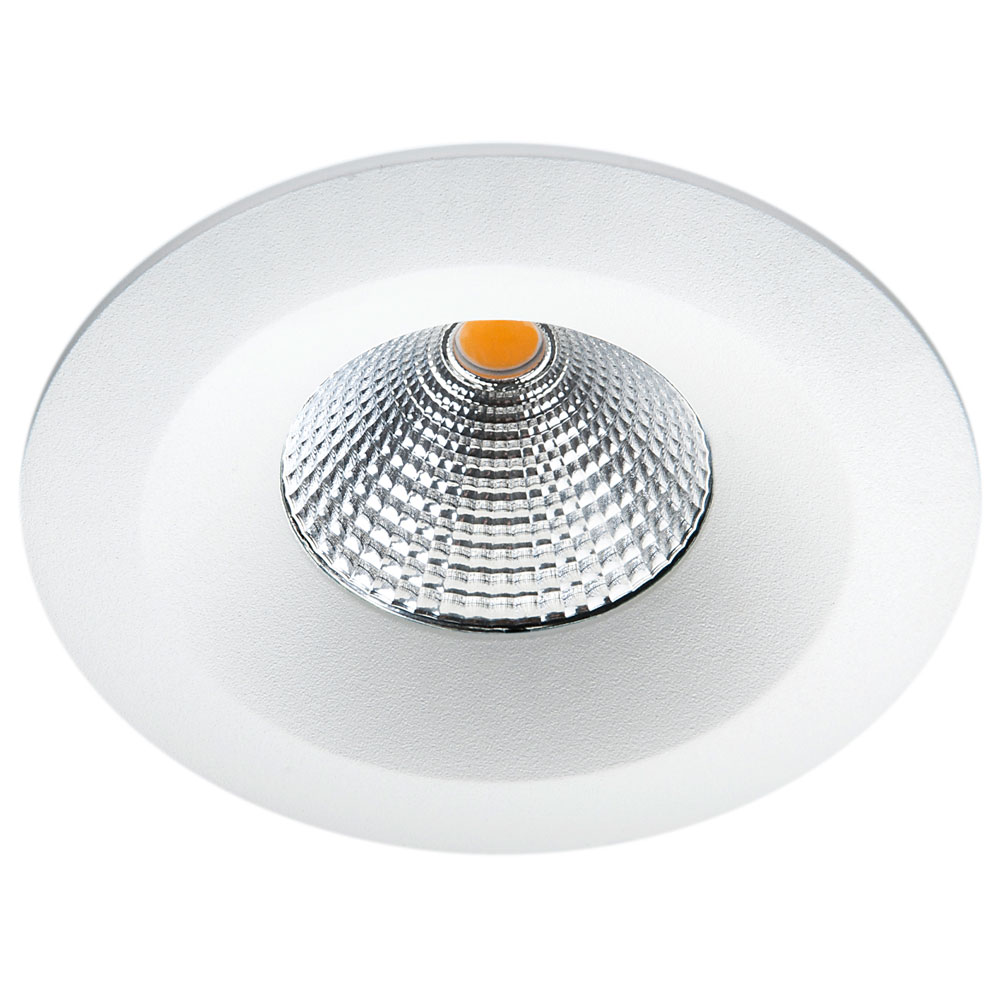 LED inbouwspot 7W 2700K 610 lumen mat wit UNILED isosafe SG 904221