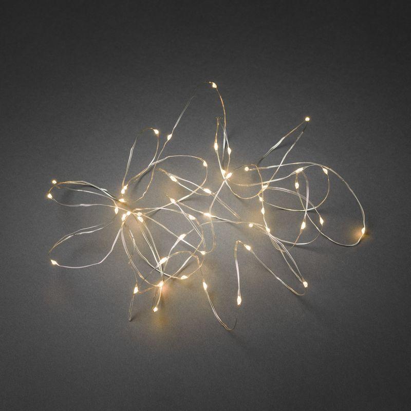 mini led kerstverlichting voor binnen 100 lampjes extra warm wit 10 meter doorzichtig. Black Bedroom Furniture Sets. Home Design Ideas