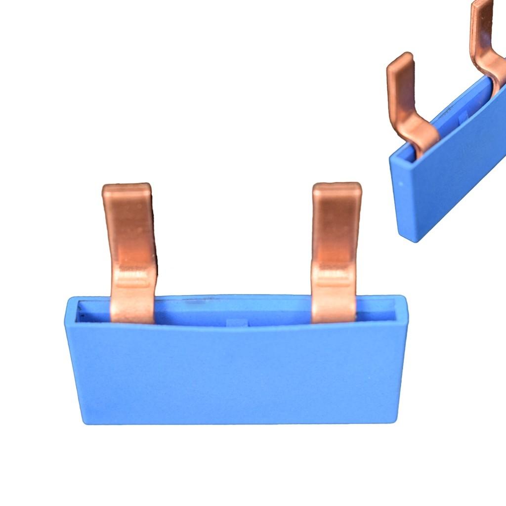 SEP Verdeelkam 1f pin 2 mod 18mm blauw gebogen P01002B10