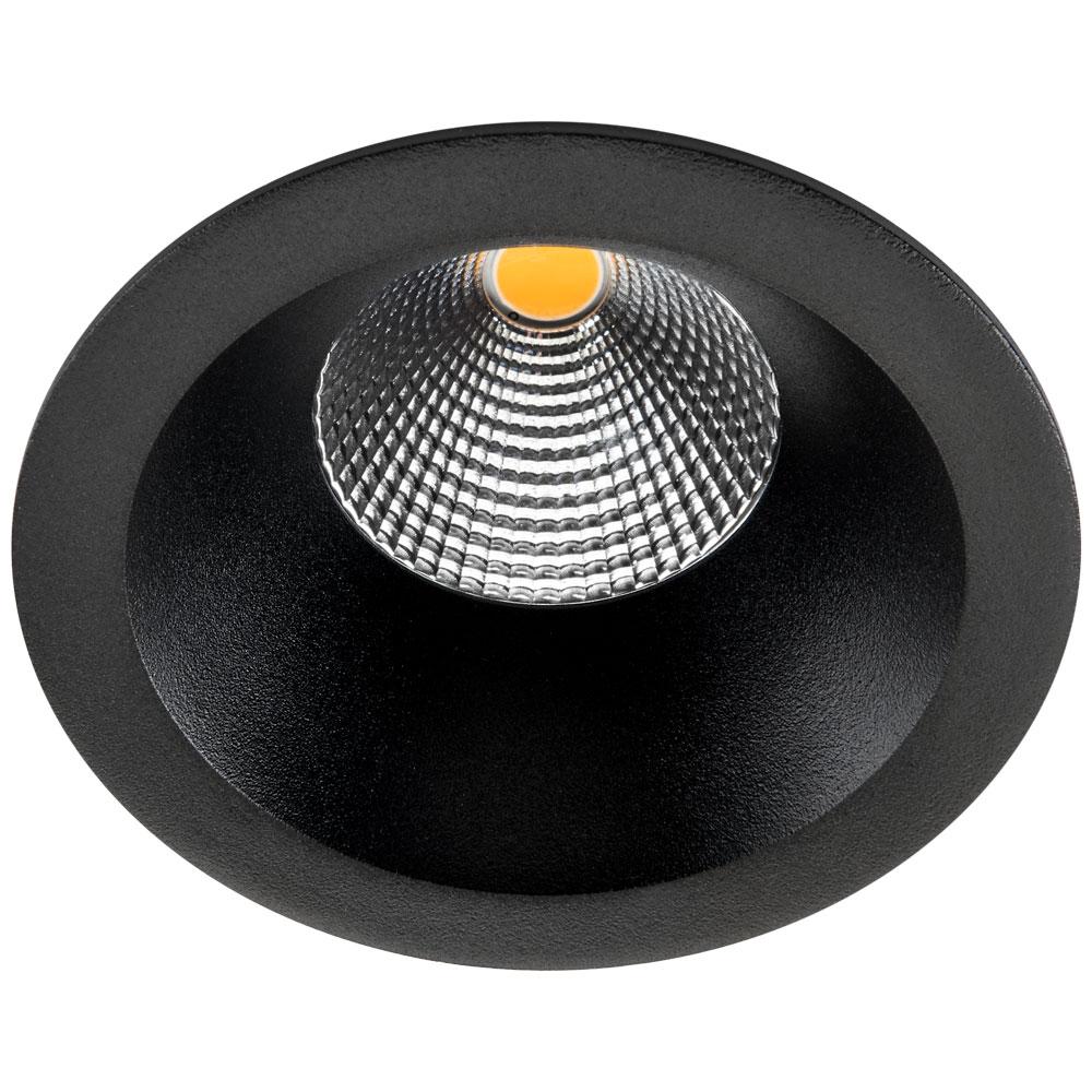 SG LED inbouwspot 9W 2700K 780 lumen zwart Junistar soft SG 903213
