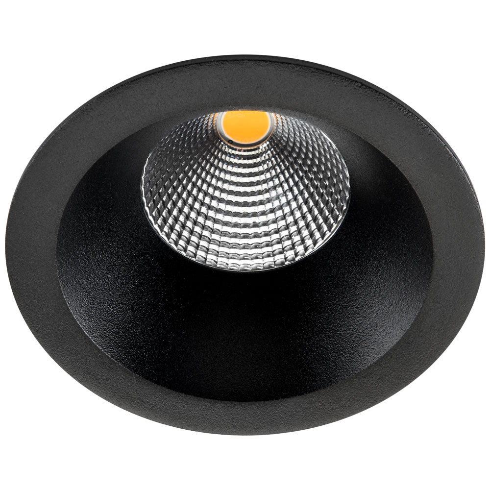 SG LED inbouwspot 9W 830 lumen 3000K zwart Junistar soft SG 903313
