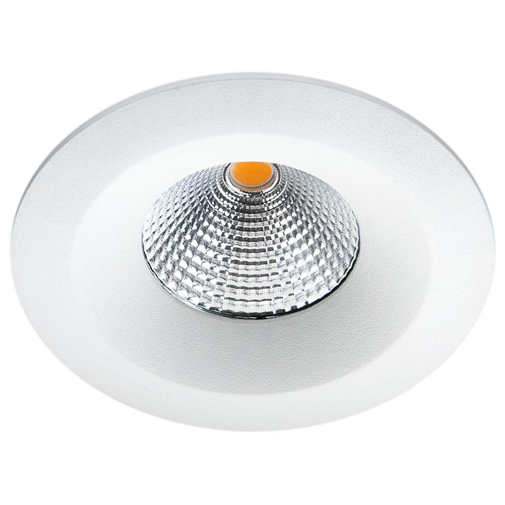 LED inbouwspot 6W 540 lumen mat wit UNILED 2000K tot 2800K isosafe IP54 SG 90421