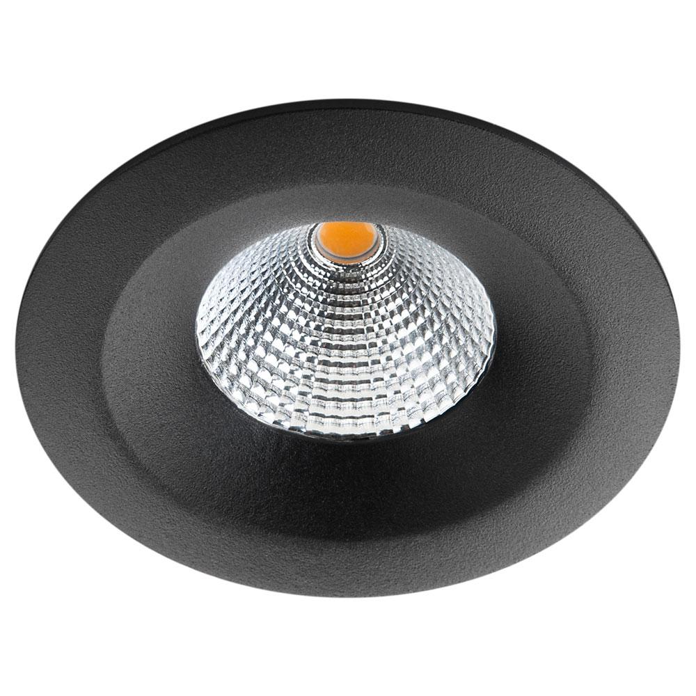 LED inbouwspot 7W 4000K 670 lumen zwart UNILED isosafe IP65 SG 904423