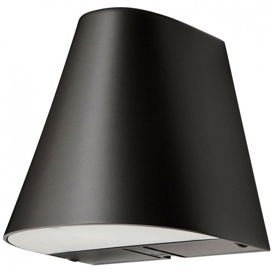 SG Spike LED uplight zwart 18W 3000K 230V 2 stopcontacten 614913