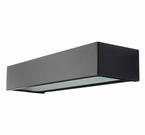 SG Edge Direct LED mat zwart 10W 3000K dimbaar IP65 IK06 614361