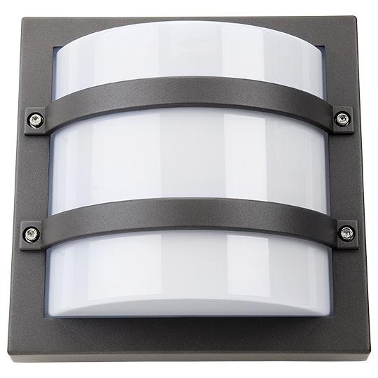 SG Largo LED Wandlamp 10W 3000K grafiet IP65 IK10 623569