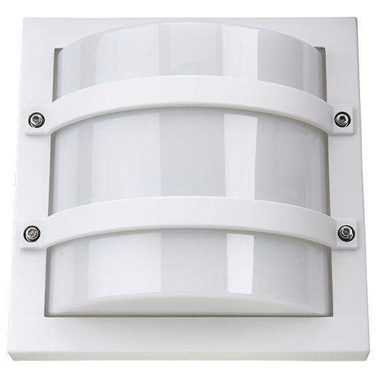 SG Largo LED Wandlamp 10W 3000K mat wit IP65 IK10 611569
