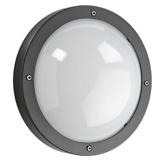 SG Primo LED wandarmatuur 12W 4000K IP65 IK10 grafiet 643572