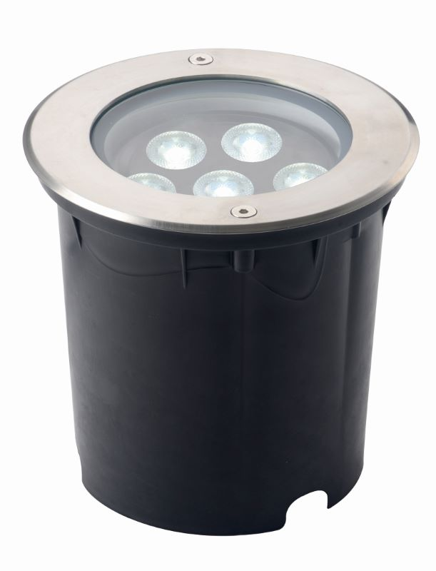 LED grondspot 250mm 38W 3000K kantelbaar IP67 140 073 Tronix