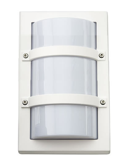 SG Trio Mini LED Wandlamp 10W 3000K mat wit IP65 IK10 621522