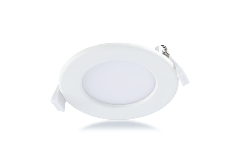 LED paneel rond 6W 350 lumen 3000K 100mm wit174-300