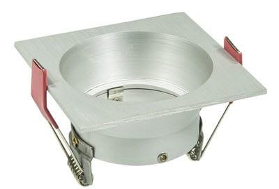 LED inbouwspot 50mm aluminium vierkant verzonken 148 578