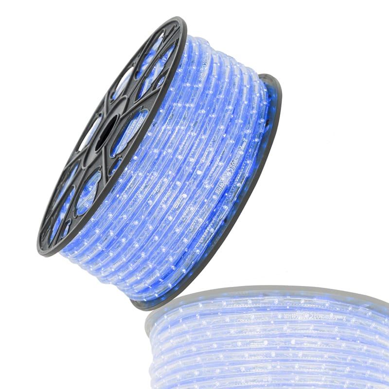 LED lichtslang blauw 36 LED's 230V rol 51 meter Tronix 055 002