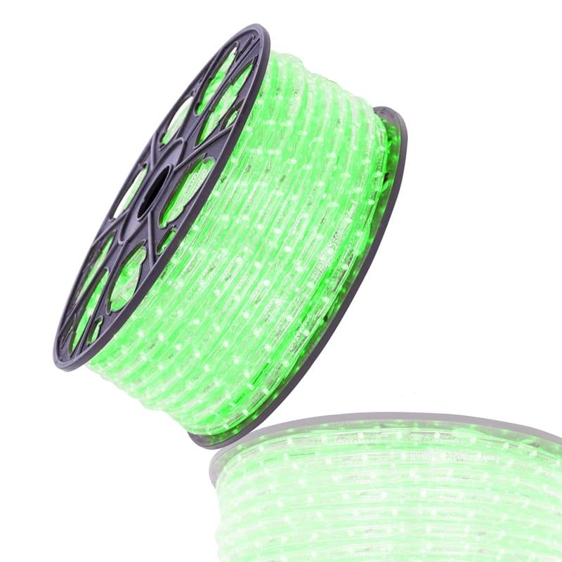 LED lichtslang groen 36 LED's 230V 51 meter 055 003