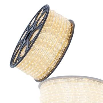 LED lichtslang warmwit 36 LED's 230V 51 meter inkortbaar per 1.5m 13mm Tronix