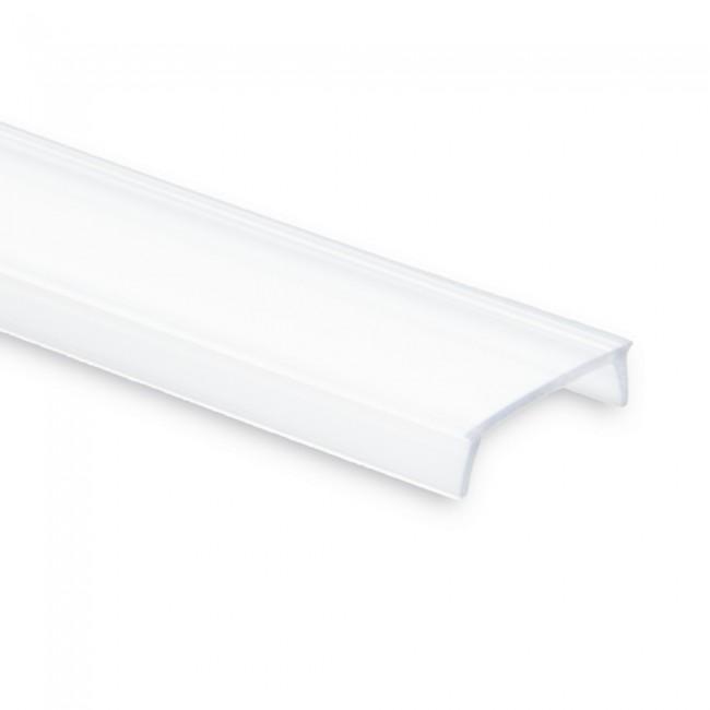 Afdekking C1 opaal 200cm polycarbonaat voor aluminium LED profiel PL1 PL2 PL3 PL