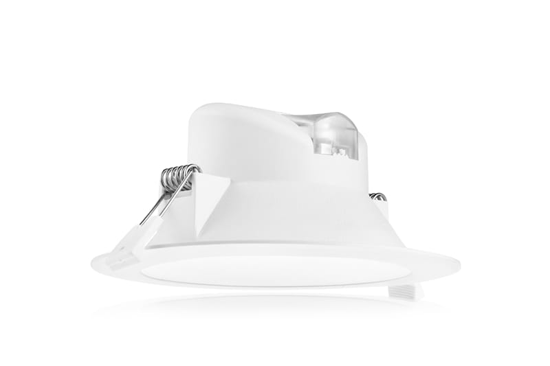 LED downlight ECO 14W 1200 1260 lumen 3000K 4000K 6000K dimbaar Ø145mm Tronix 13