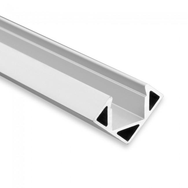 Hoek LED profiel PO23 aluminium strip max 115mm breed 8104052