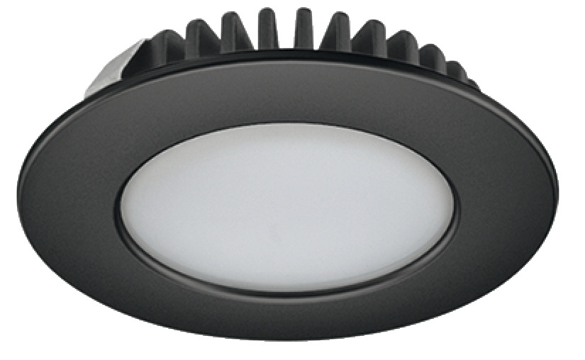 LED inbouwspot 3.2W 150 lumen 4000K 55mm zwart