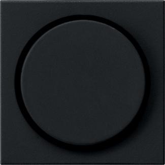 Zwart mat dimknop Gira E2 0650005