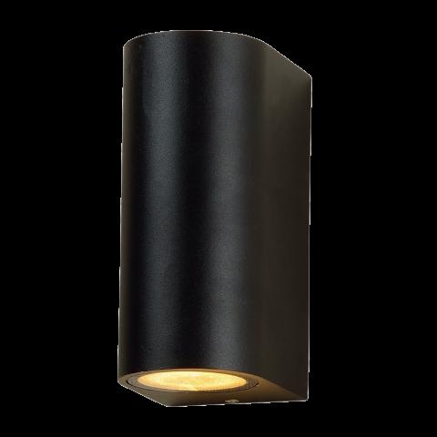 Hangende moderne buitenlamp Rosmalen zwart
