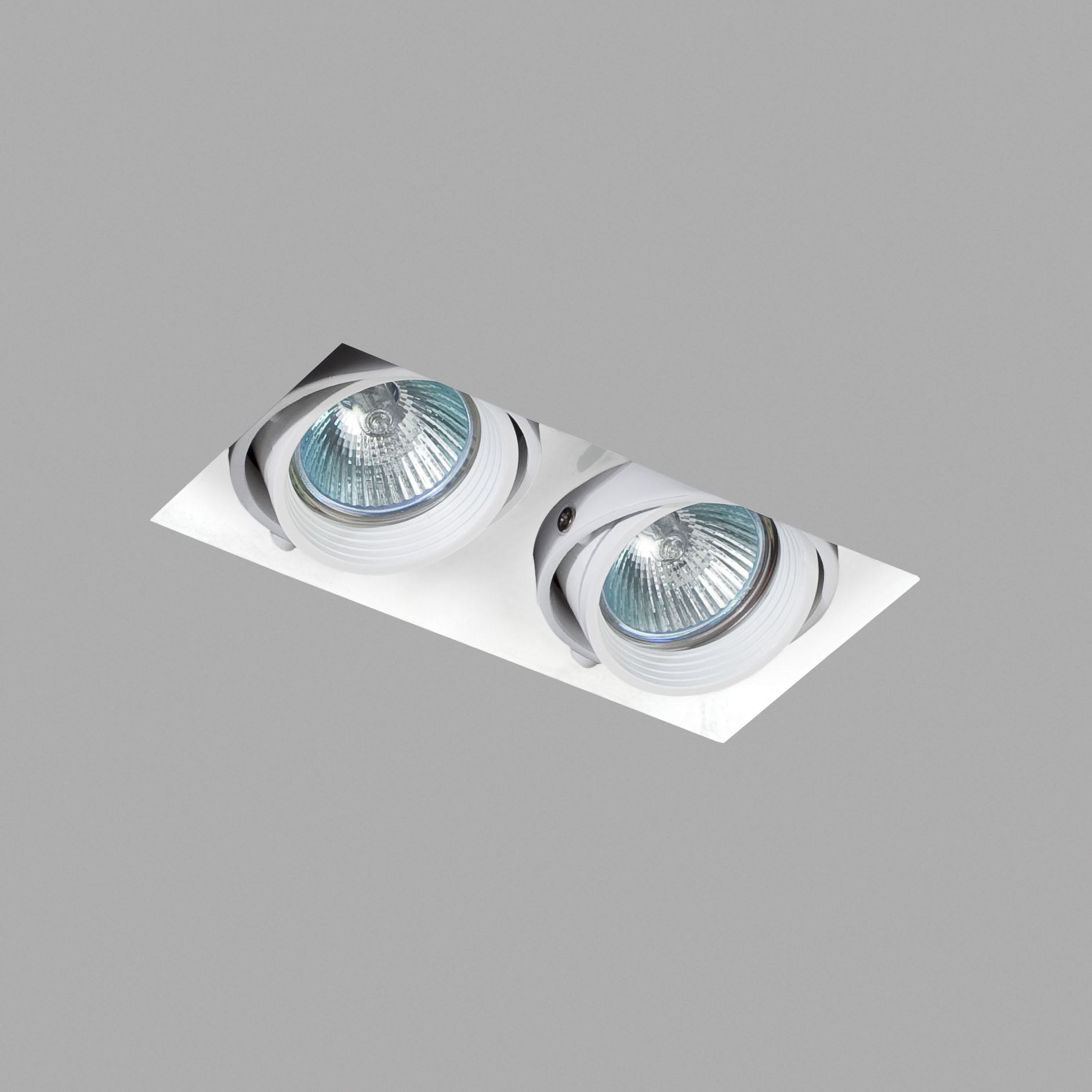 Led Spot wit verstelbaar IP23 227x143x123mm FALCON Trimless Faro