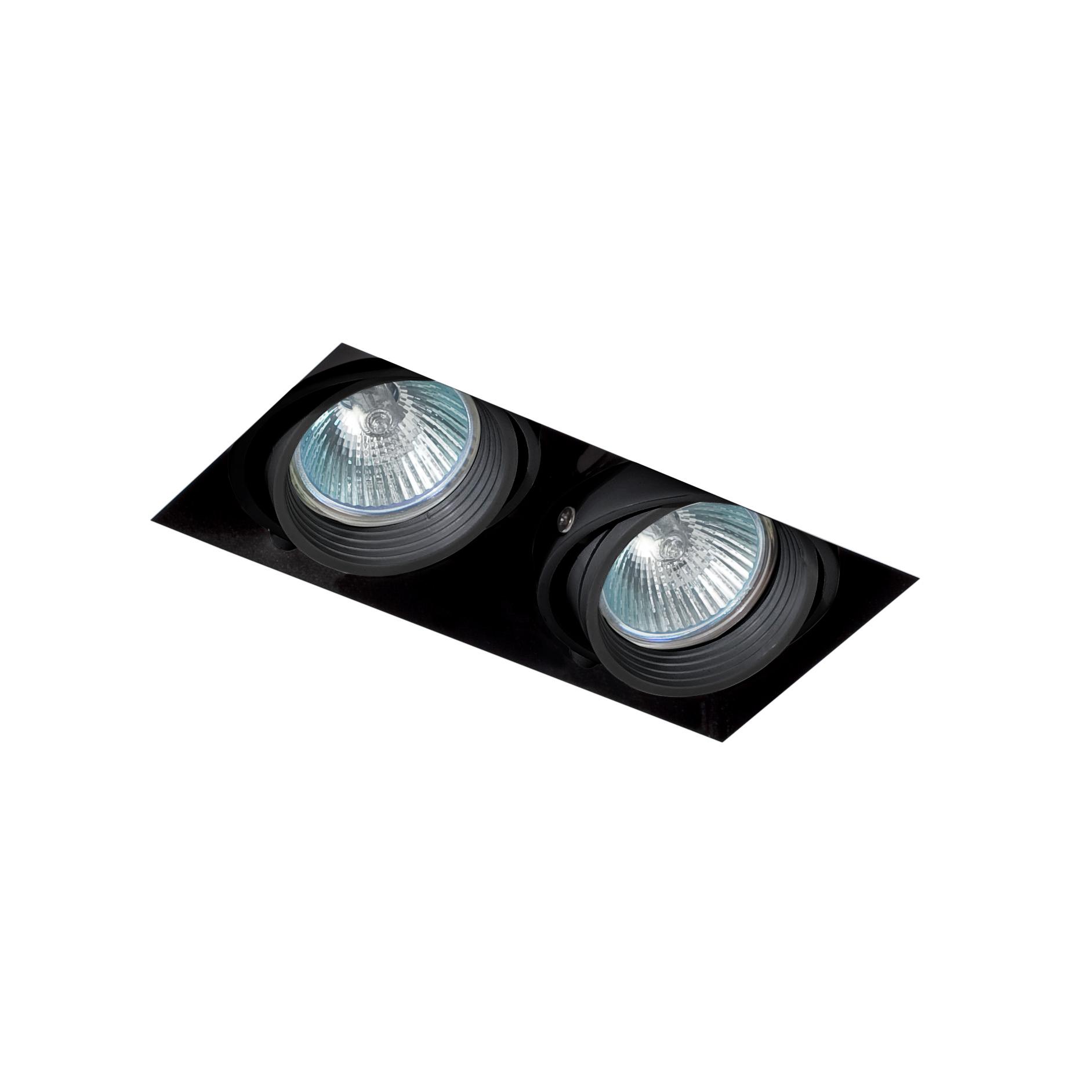 Led Spot zwart verstelbaar IP23 227x143x123mm FALCON Trimless Faro
