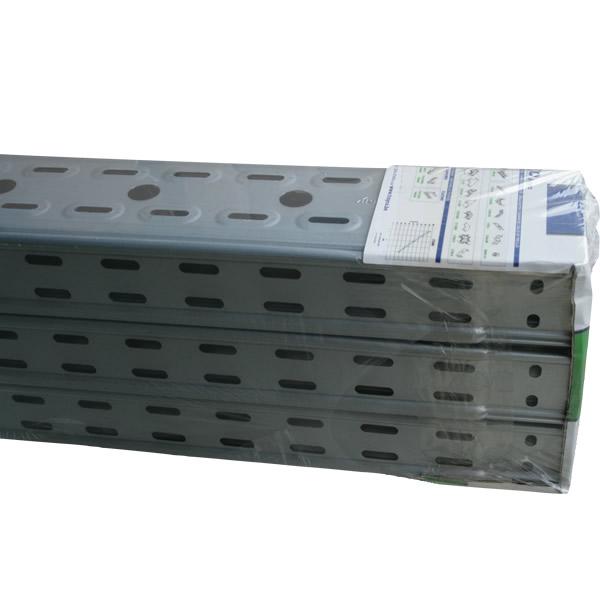 Kabelgoot metaal 100mm sendzimir verzinkt per meter