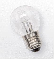 Kogel Halogeenlamp gloeilamp 28W E27 Toplux vervanger van 40W